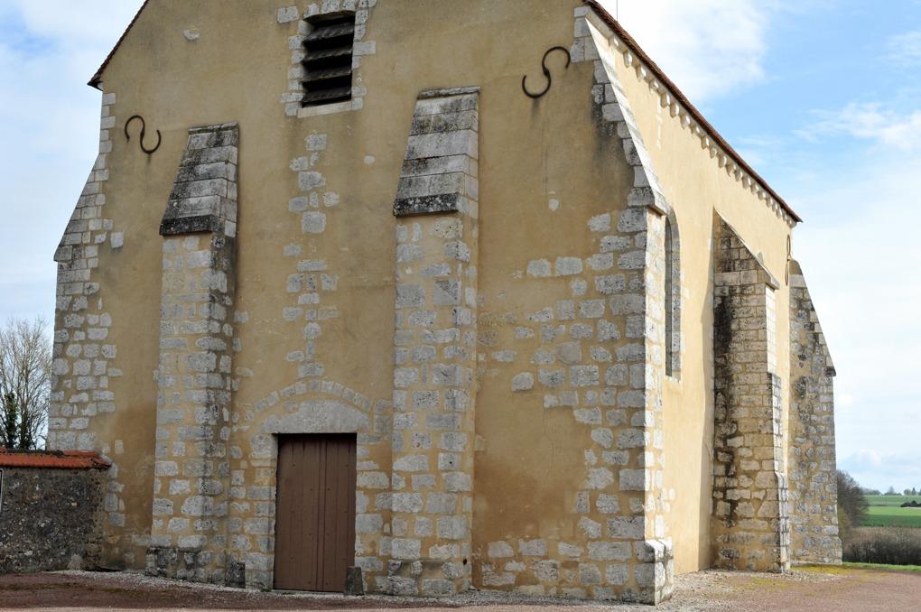 Chambeugle - Chapelle templière Saint-Aubin (XIIe siècle)
