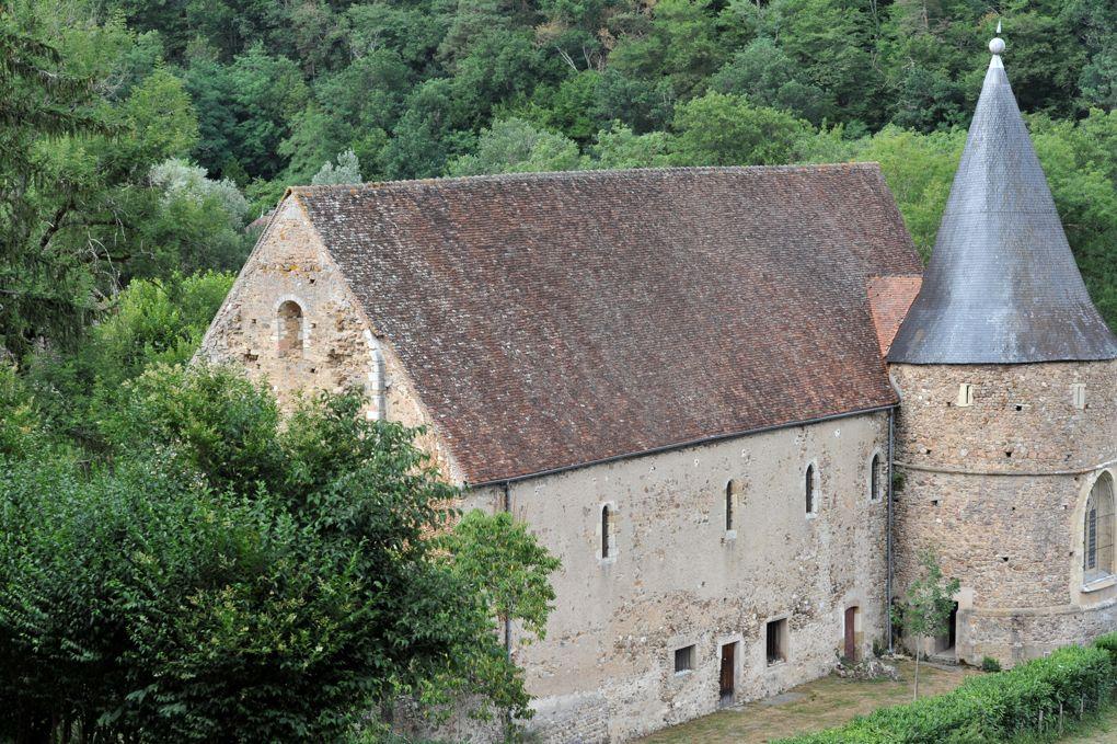 Domecy-sur-Cure - Abbaye Saint-Martin de Cure, hameau de Cure (XIIe-XVIe siècle)