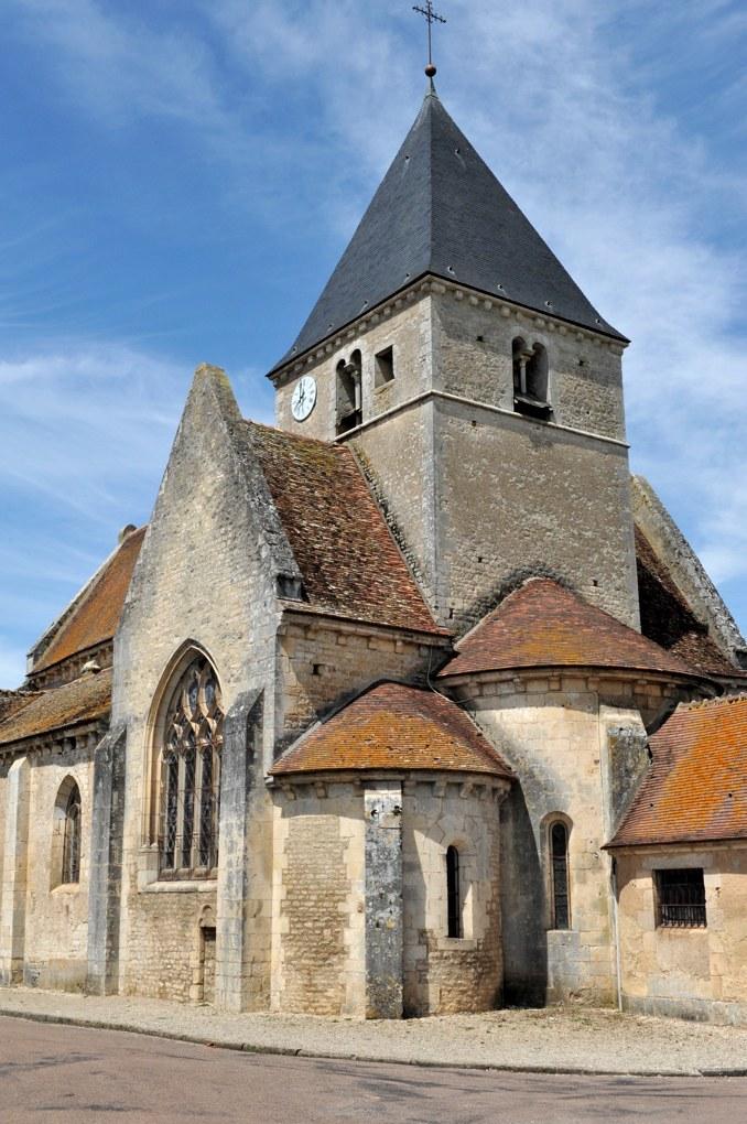 Druyes-les-Belles-Fontaines - Eglise Saint-Romain (milieu du XIIe siècle)