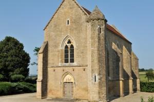 Island (89) - Chapelle templière du Saulce (fin XIIIe siècle)