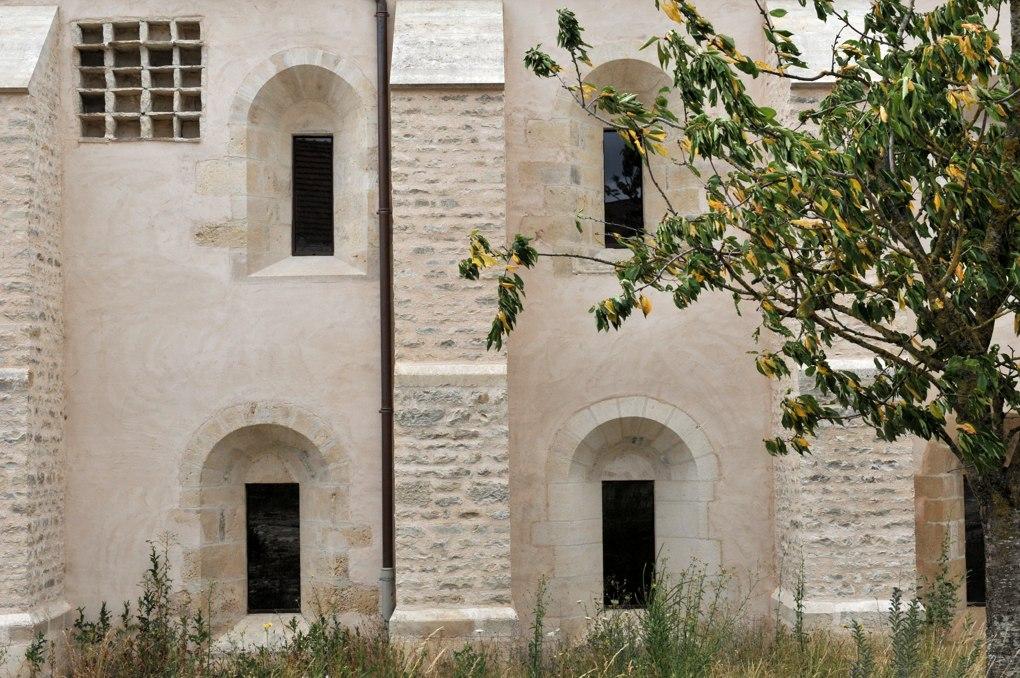 Joux-la-Ville - Grange cistercienne d'Oudun (fin du XIIe siècle)