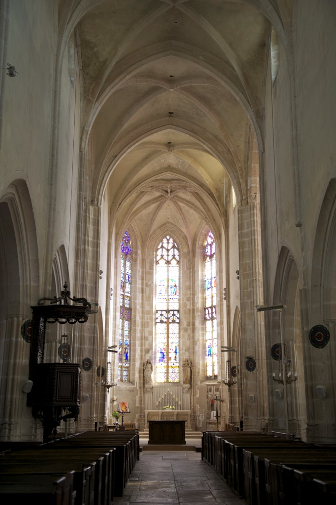 Noyers - Eglise Notre-Dame (XVe-XVIe siècle)