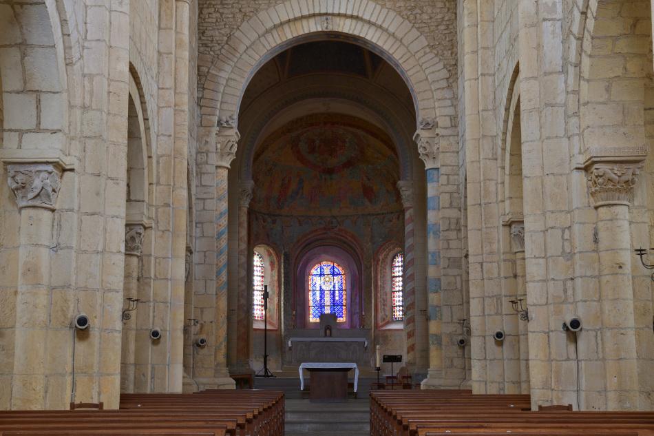 Anzy-le-Duc - Ancienne église priorale (XIe-XIIe s.)