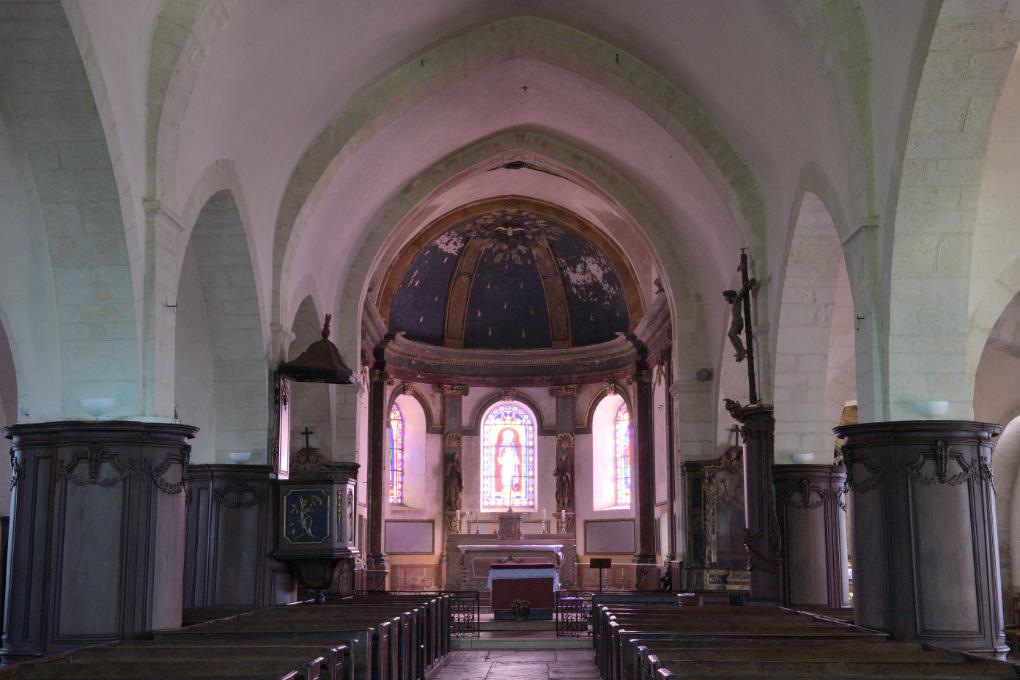 Asquins - Eglise Saint-Jacques (XIIe-XIIe et XVIIIe s.)