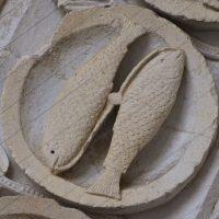 Autun - Tympan : les Poissons