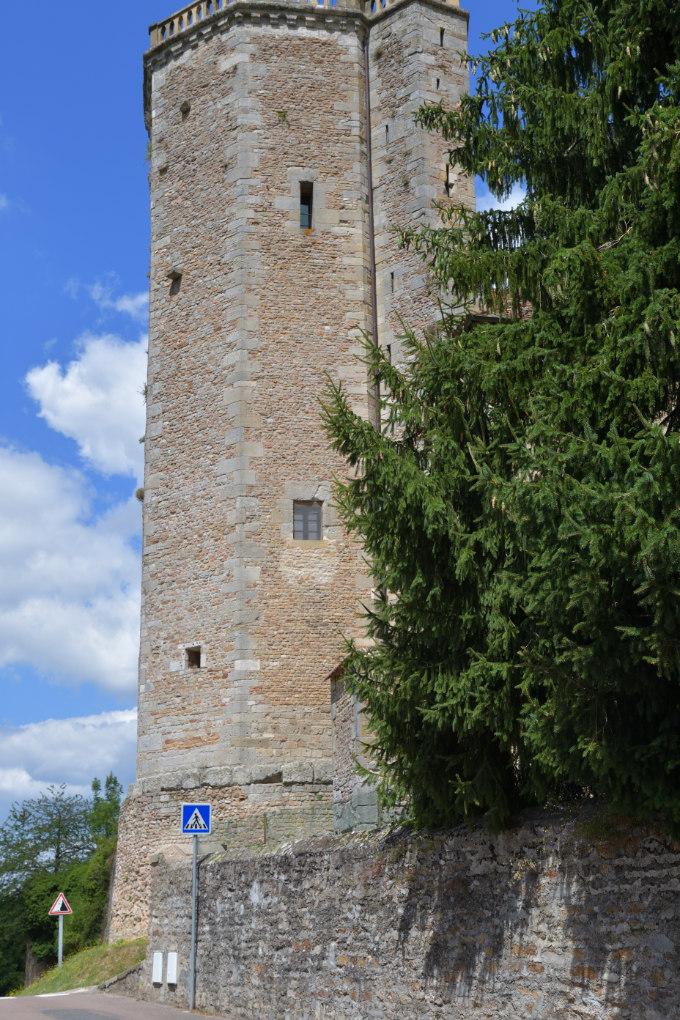 Autun - Tour des Ursulines (XIVe s.)