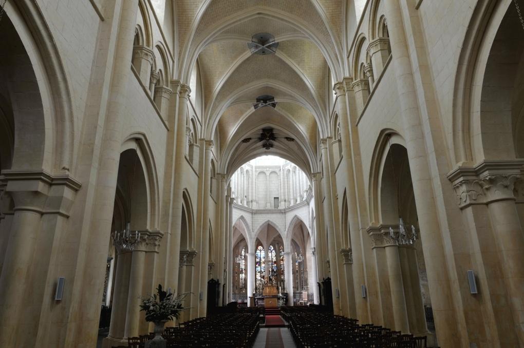 Auxerre - Eglise Saint-Eusèbe (XIIe-XIIIe siècle)