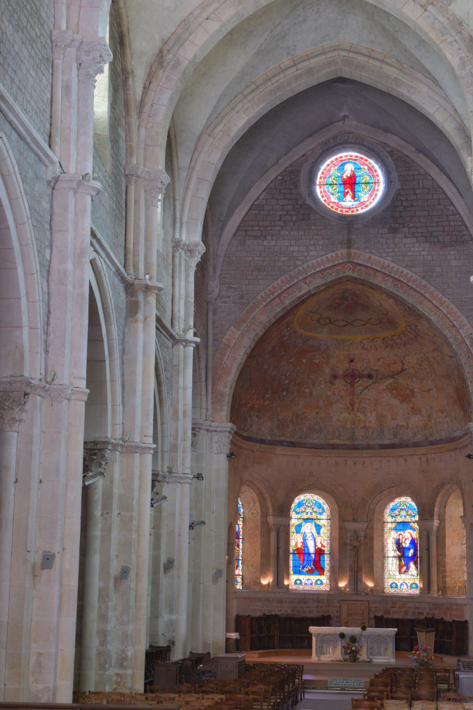 Avallon - Collégiale Saint-Lazare (XIIe s.)
