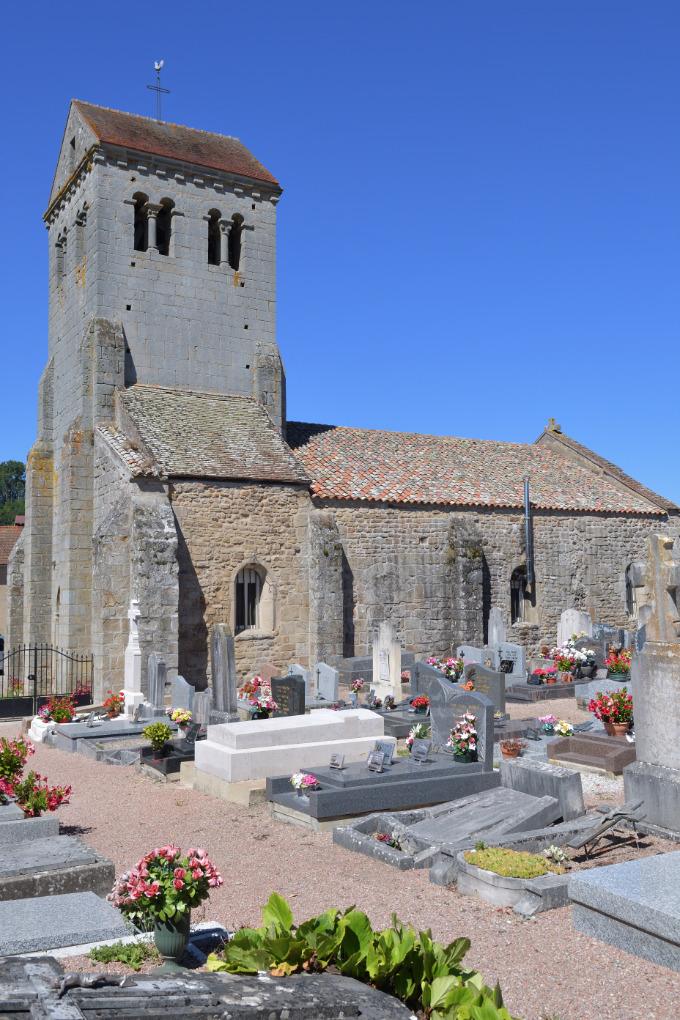 Curgy - Eglise Saint-Ferréol (début du XIIe s.)