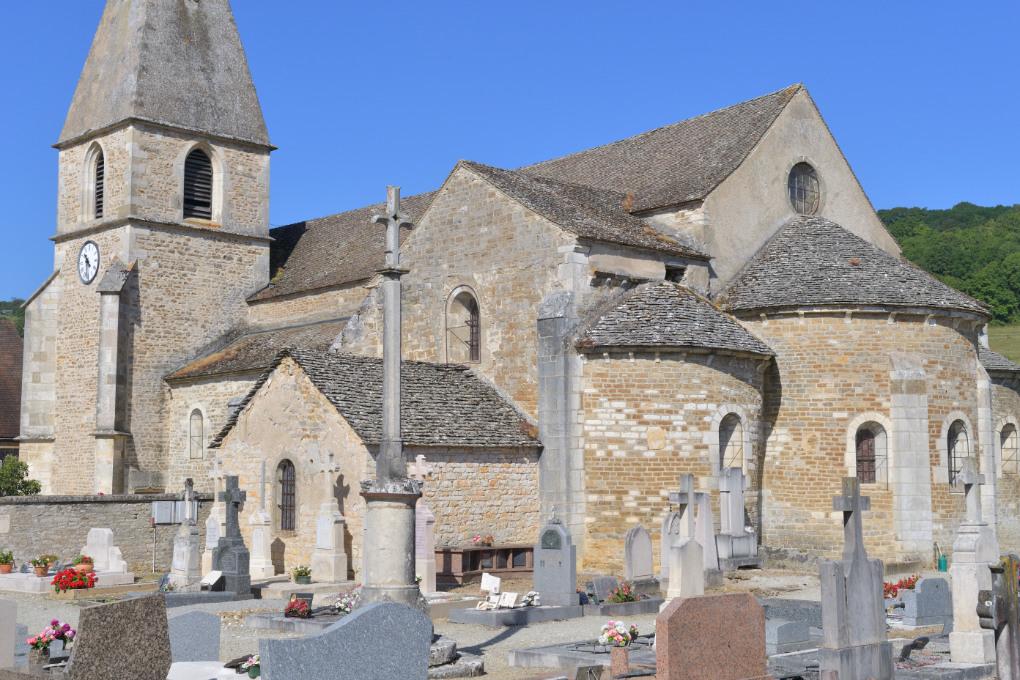 La Rochepot - L'église romane (XIIe s.)