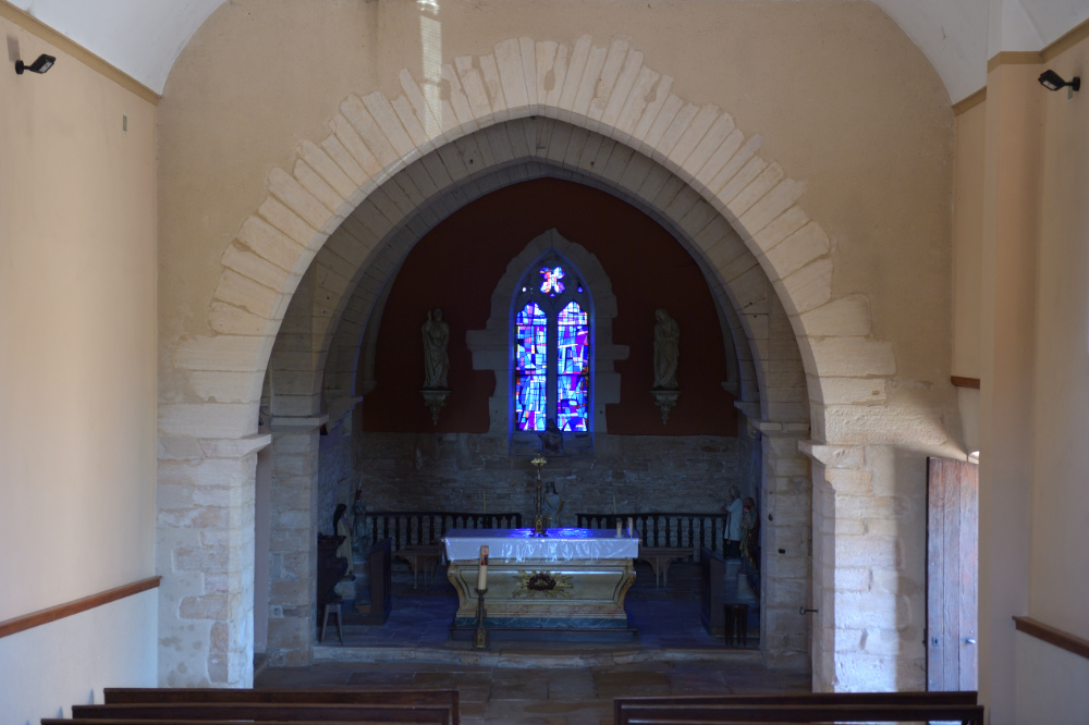 Montbellet-Eglise Saint-Didier (XIIe et XIVe s.)