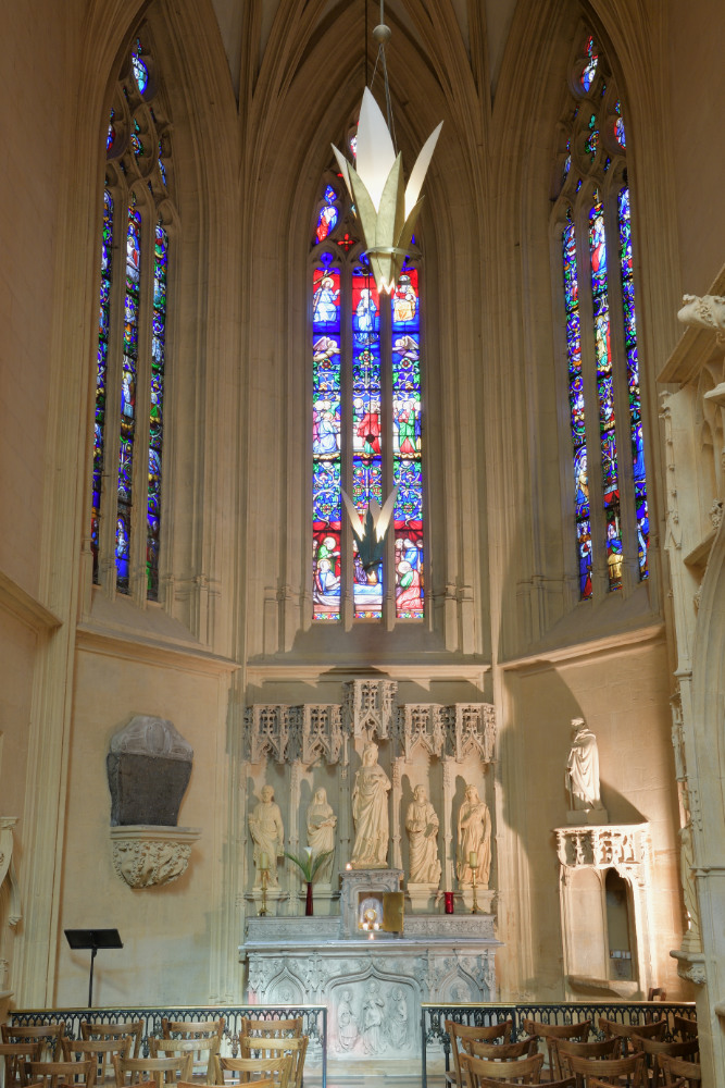 Paray-le-Monial - Basilique : Chapelle de Digoine (1470)