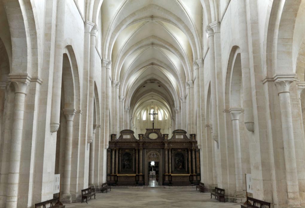 Pontigny - Abbatiale (XIIe-XIIIe siècle)