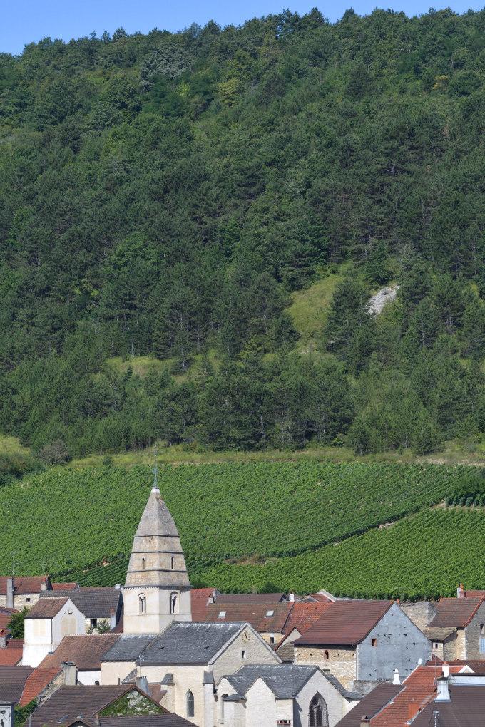 Saint-Aubin - Le village vigneron et son église médiévale