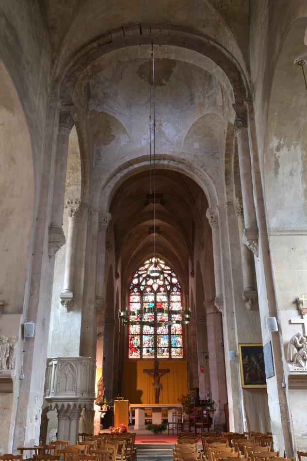 Saint-Gengoux-le-National - Eglise Saint-Gengoux (XIIe-XVIe-XVIIIe s.)