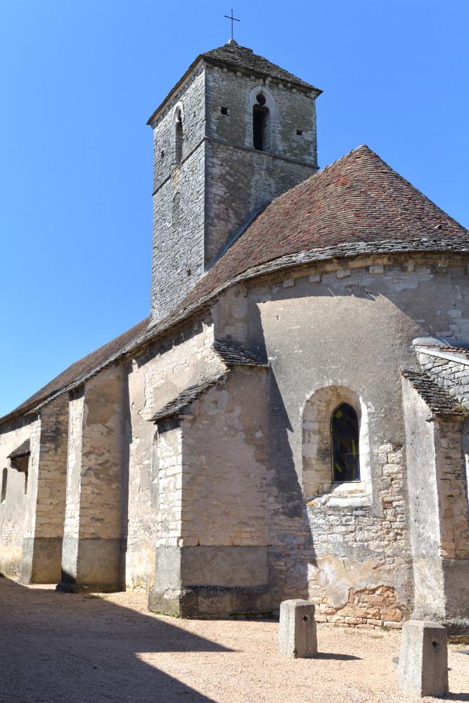 Saint-Oyen - Ancienne église priorale Saint-Oyen (XIIe-XIIIe s.)