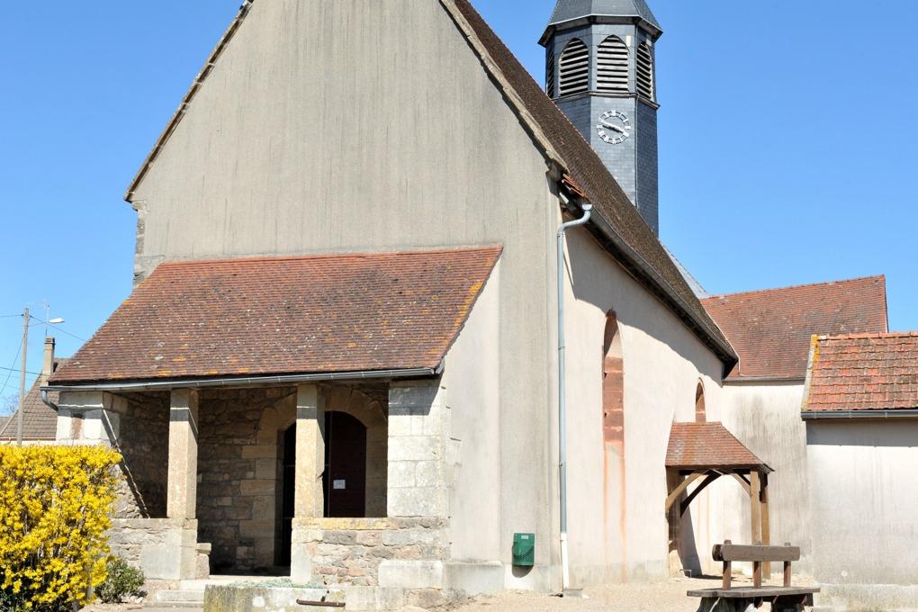 Sainte-Magnance - Eglise Sainte-Magnance (XVe-XVIe siècle)