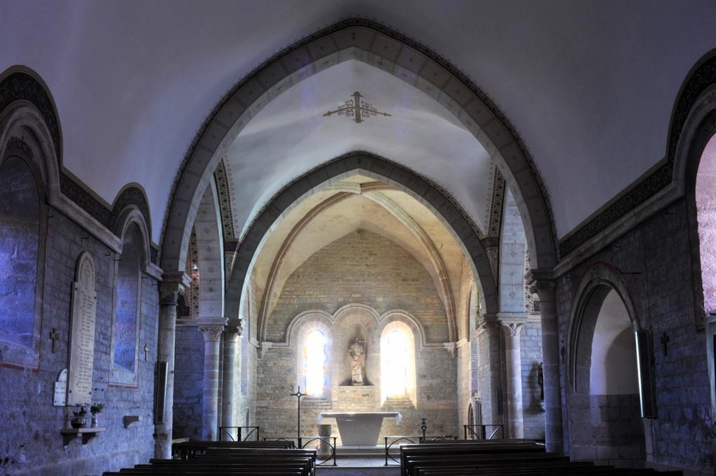 Savigny-en-Terre-Plaine - Eglise Saint-Bénigne (fin XIIe et XVe siècle)
