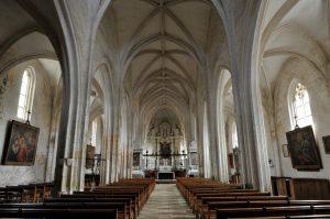 Treigny - Eglise Saint-Symphorien (fin du XVe siècle)