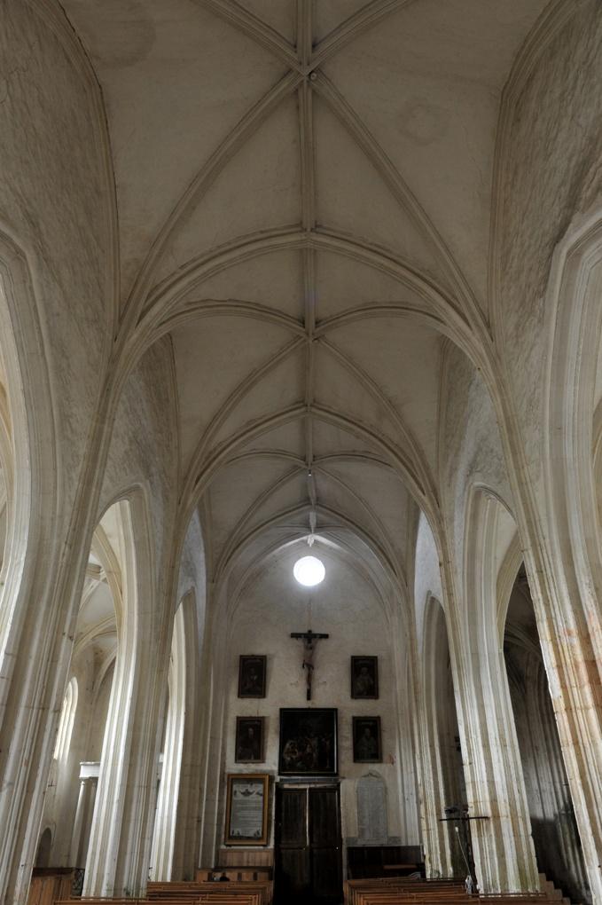 Treigny - Eglise Saint-Symphorien (fin du XVe siècle) : la nef (fin XVe-XVIe siècle)