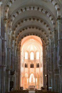 Vézelay - Eglise abbatiale Sainte-Madeleine (XIIe-XIIIe s.)