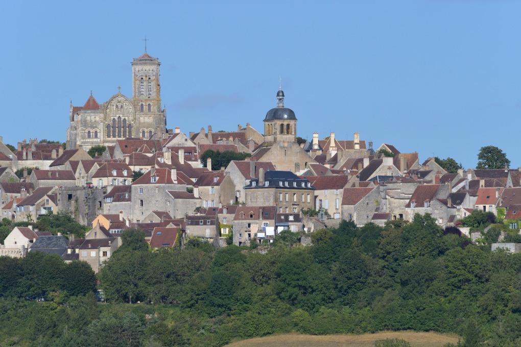 Vézelay - Vue depuis le hameau de la Goulotte