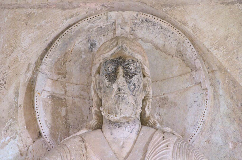 Vézelay - Tympan : le Christ