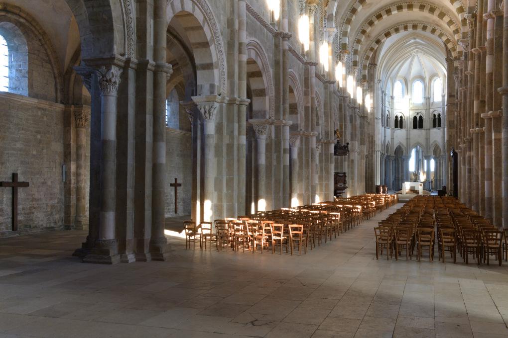 Vézelay - Abbatiale Sainte-Madeleine (XIIe s.)