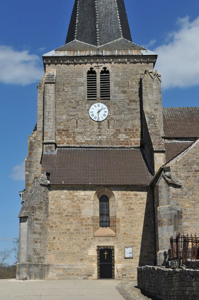 Vitteaux - Eglise Saint-Germain (XIIe-XVIe siècle) : le clocher