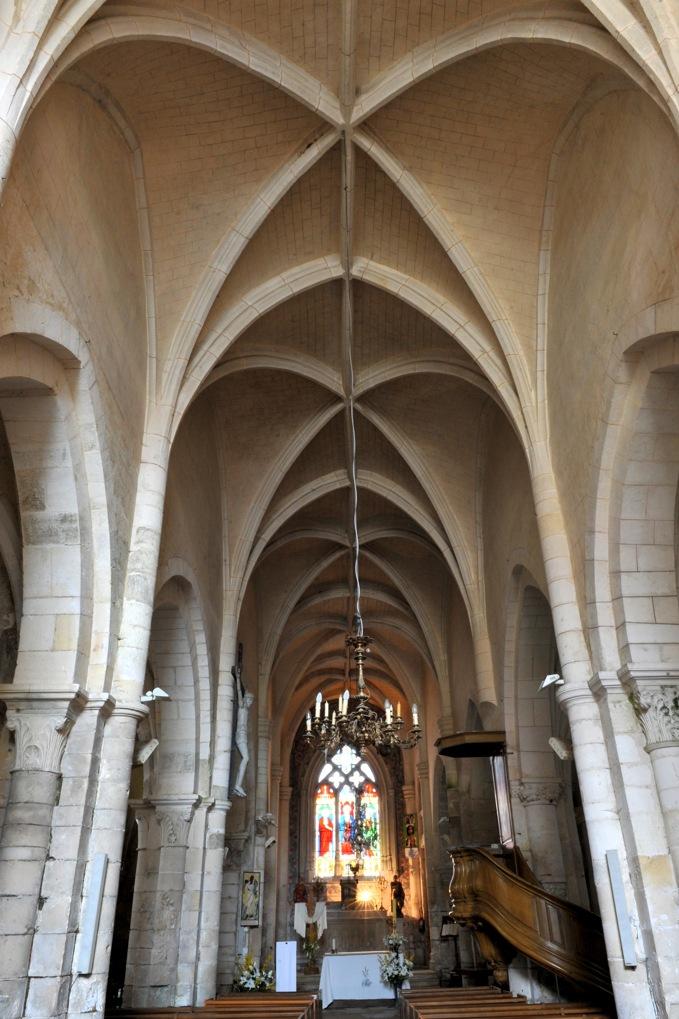 Corvol-l'Orgeuilleux - Eglise Saint-Vincent (XIIe et fin XVe-XVIe siècle)