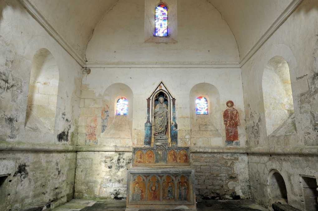 Mailly-le-Château - Chapelle Saint-Siméon (2e moitié du XIIe siècle)