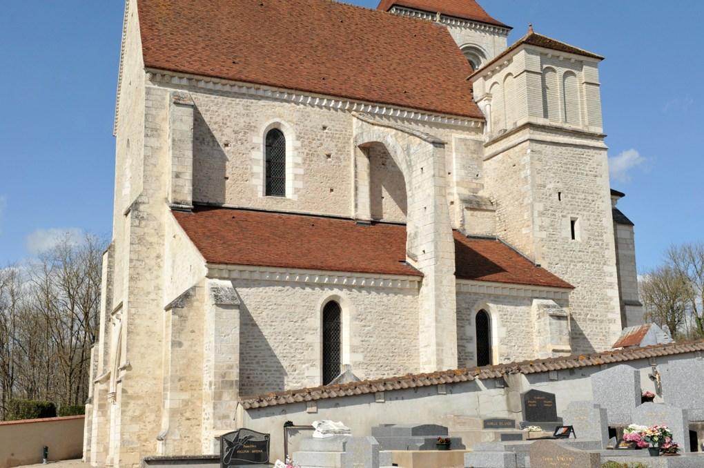 Prégilbert - Eglise Notre-Dame (fin XIIe-début XIIIe siècle)