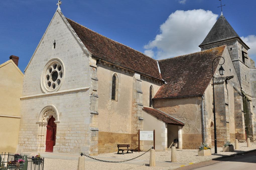 Quenne - Eglise Notre-Dame-de-l'Assomption (XIIe au XVe siècle)