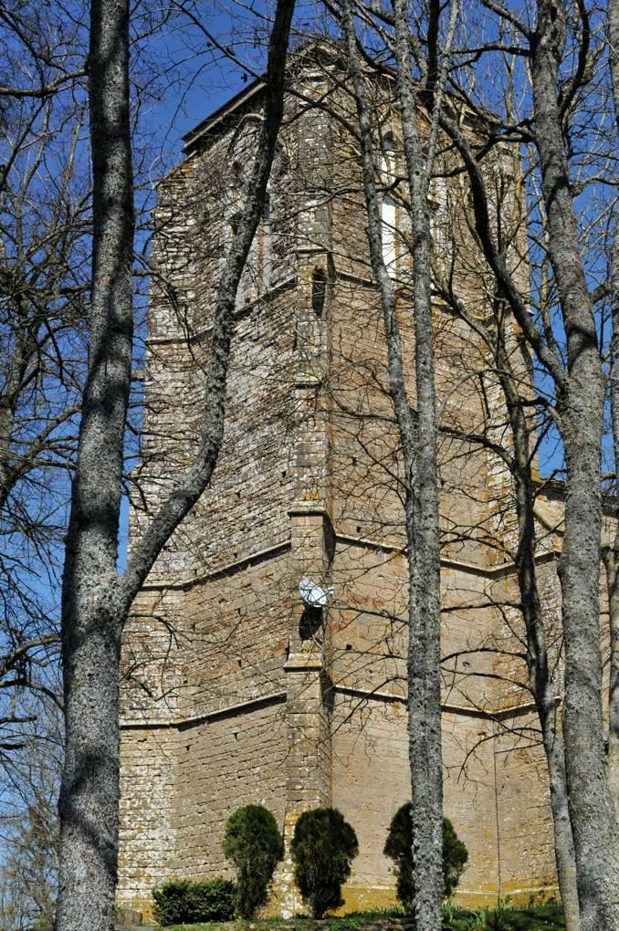 Vic-sous-Thil - Collégiale de Thil (milieu du XIVe siècle)