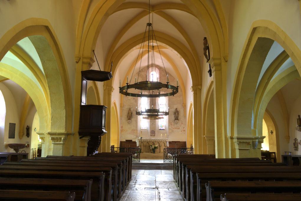 Chaudenay - Eglise Saint-Véran (XIIe-XVe s.)