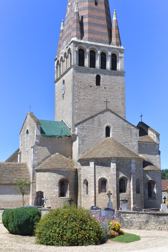Ciel - Eglise Notre-Dame-de-l'Assomption (XIIe s.)