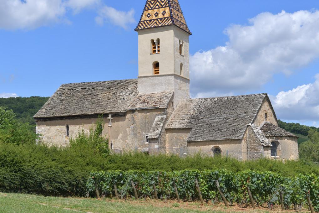 Fixin - Eglise romane Saint-Antoine (XIe-XIIe et XIVe s.)