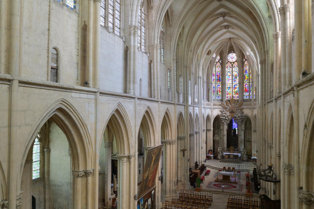 Villeneuve-sur-Yonne - Collégiale Notre-Dame de l'Assomption (XIIe-XVIe s.)