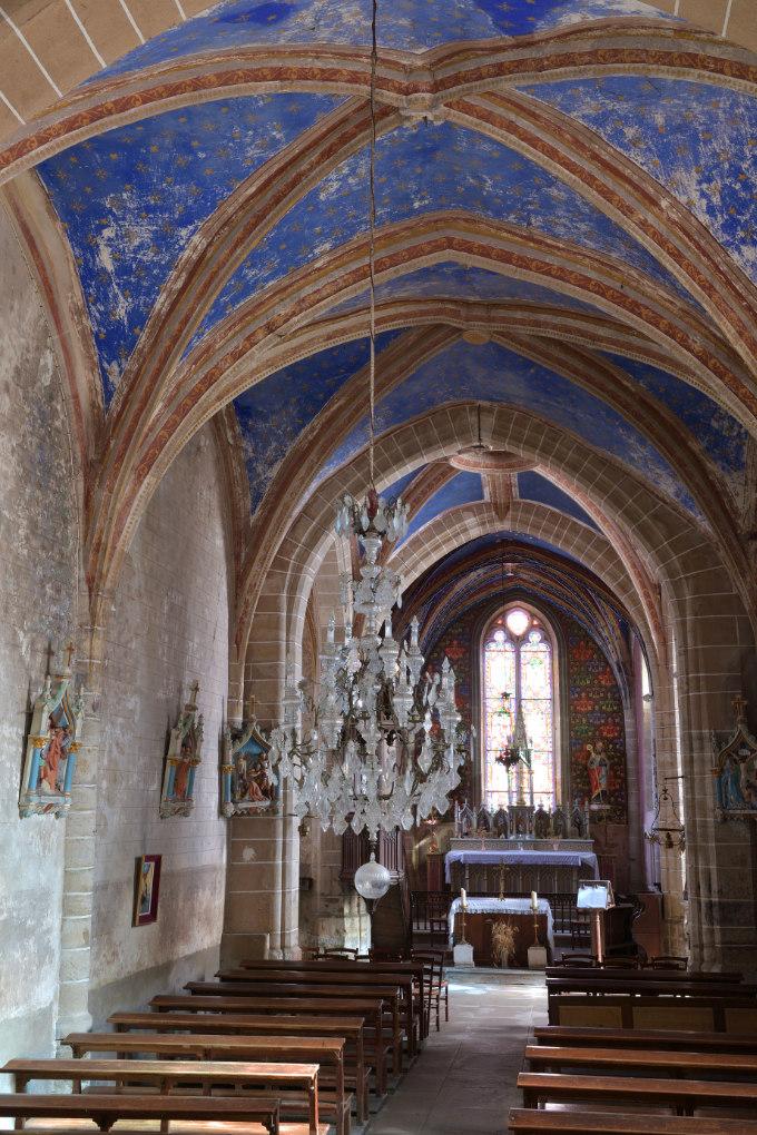 Domecy-sur-le-Vault - Eglise Saint-Léger (XVe s.)