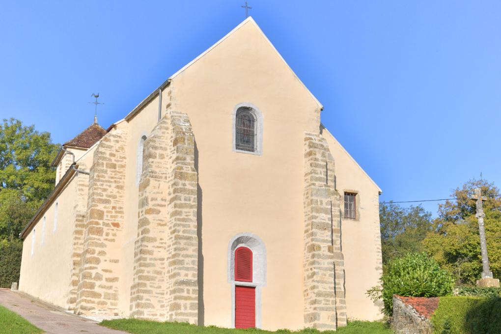Fontenay-près-Vézelay : Eglise Saint-Germain (XIIe-XVe-XVIIIe s.)