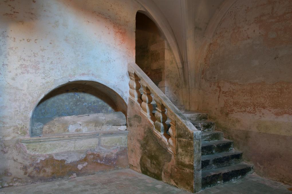 Sainte-Pallaye - Eglise Sainte-Pallaye : crypte (XIIe et XVIe s.)