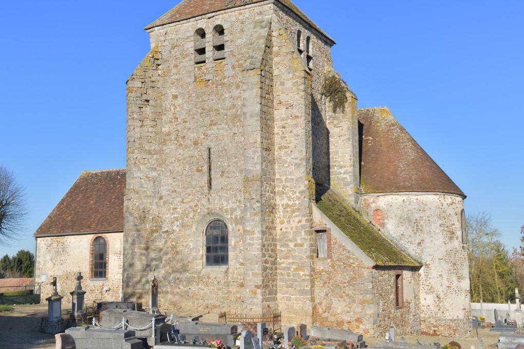 Perceneige - église Saint-Pierre de Sognes : crypte (XIe s.)