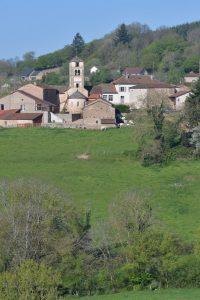 Bergesserin - Eglise Saint-Loup (chevet du XIIe s.)
