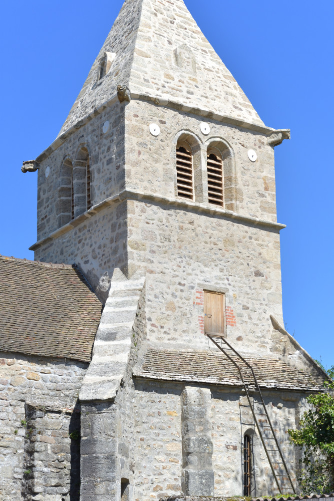 Châtel-Moron - Eglise Saint-Martin (XIIe s.)
