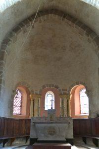 Donzy-le-National - Eglise Sainte-Marie-Madeleine : abside de la fin du XIIe siècle