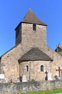 Saint-Maurice-des-Champs - église de La Rochette