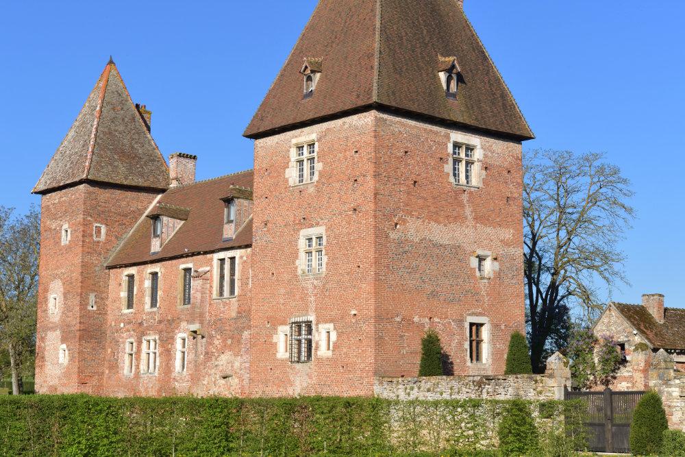 Messey-sur-Grosne - Le château (XVe s.)