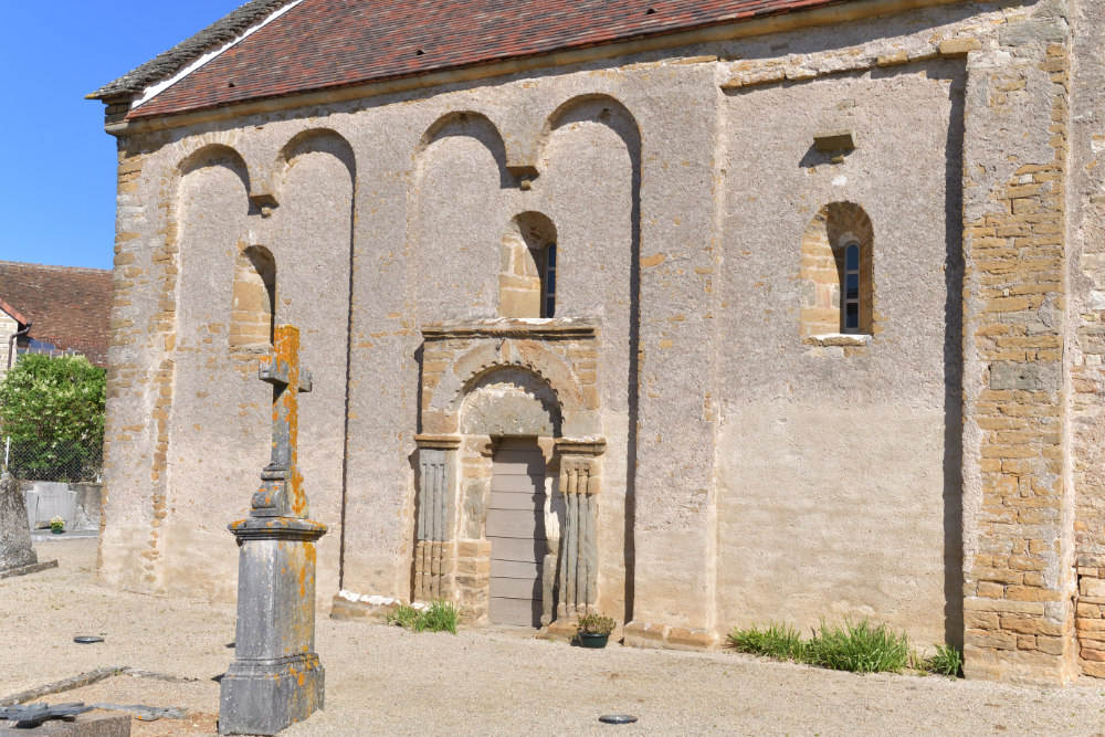 Saint-Maurice-des-Champs - Eglise Saint-Maurice (XIIe s.)