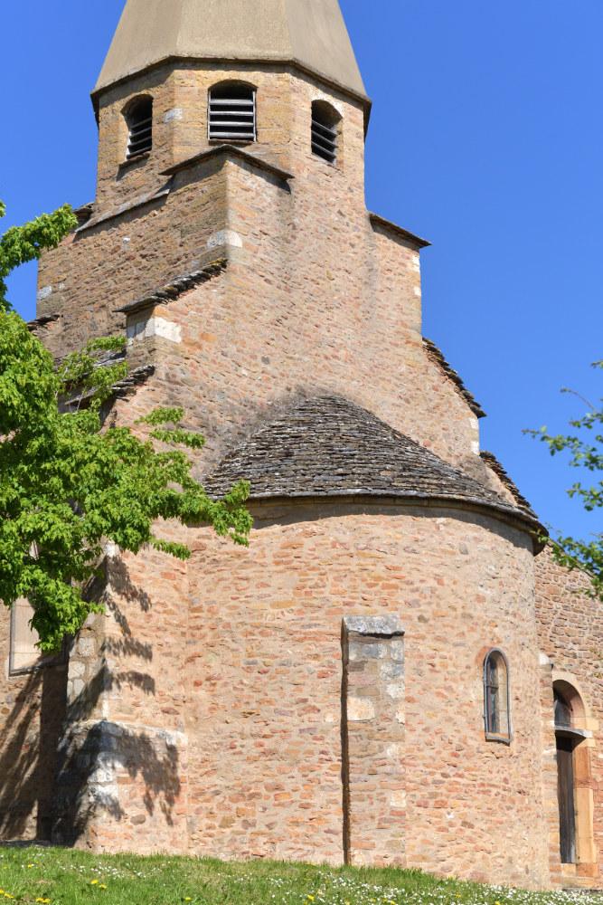 Saint-Vérand Eglise Saint-Vérand (XIIe s.)