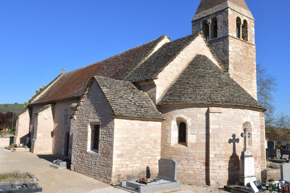 Santilly -Eglise Saint-Victor (XIIe s.)